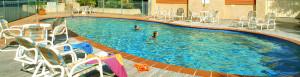 Solar Heated saltwater pool