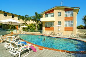 Solar Heated Saltwater Swimming Pool